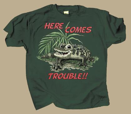 Gator Trouble Youth T-shirt