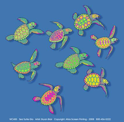 Sea Turtle Glow Youth T-shirt