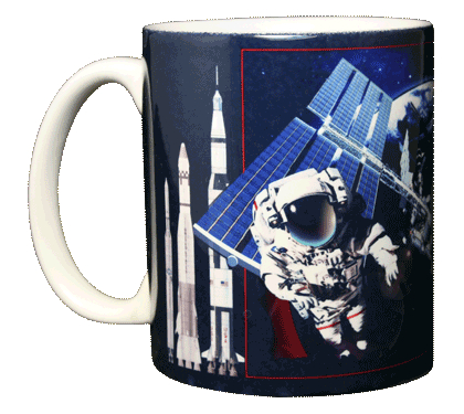 My Space Ceramic Mug - Front