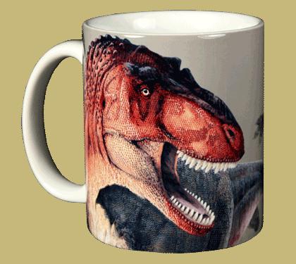 Rex Trax Ceramic Mug - Front