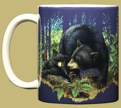 Bear Mom Ceramic Mug - Front
