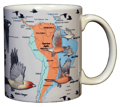 Bird Migration Ceramic Mug - Back