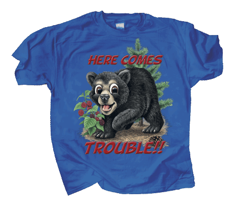 Bear Trouble Youth T-shirt