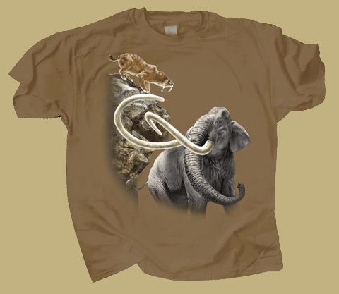 Pleistocene Adult T-shirt - Front