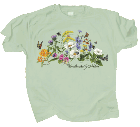 Uncultivated by Nature Adult T-shirt