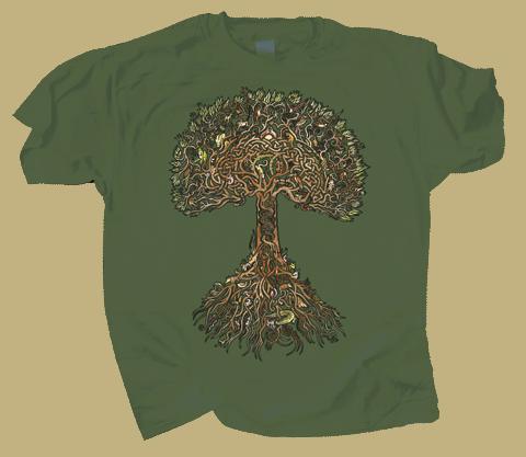 Tree of Life Adult T-shirt