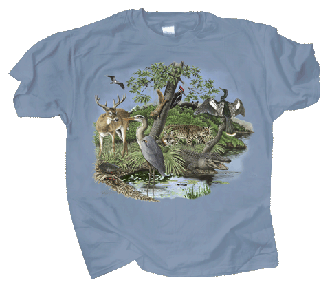 Southern Nature Adult T-shirt