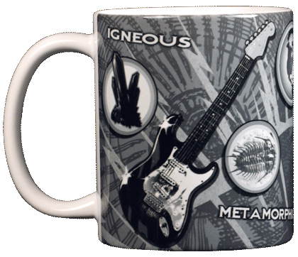 Geology Ceramic Mug - Front