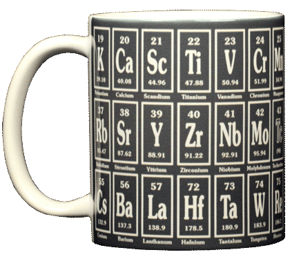 Big Elements Ceramic Mug - Front
