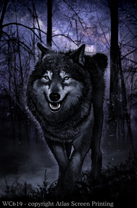 """Spirit of the Wolf 2"""" X 3"""" Magnet"""