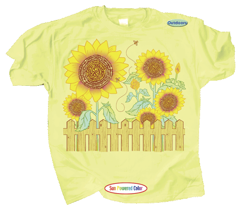 Sunflower Power Youth T-shirt - Front