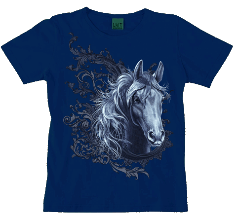 Equestrian Lace Ladies Scoop Neck Tee