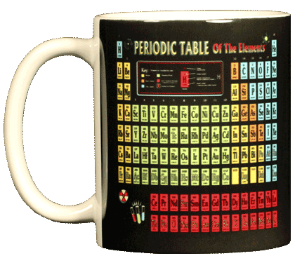 Periodic Table Ceramic Mug - Front
