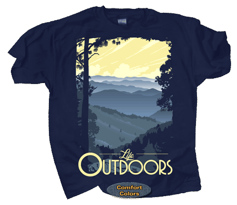 Mountain Life Adult Comfort Colors T-shirt