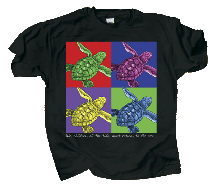 Imagine Sea Turtles Youth T-shirt