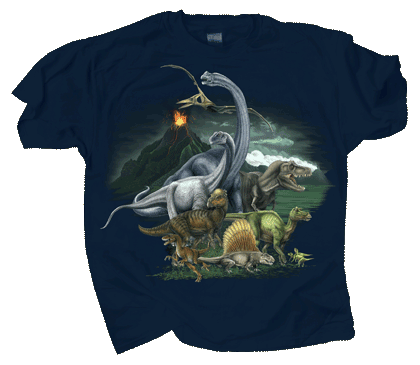 Dinosaur Kingdom Youth T-shirt - Front