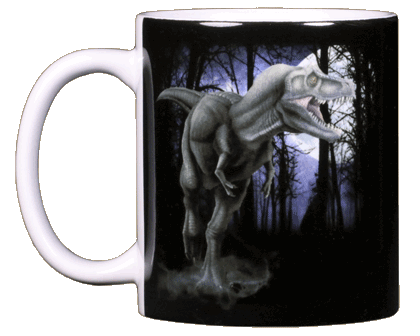 T-Rex Ceramic Mug - Front