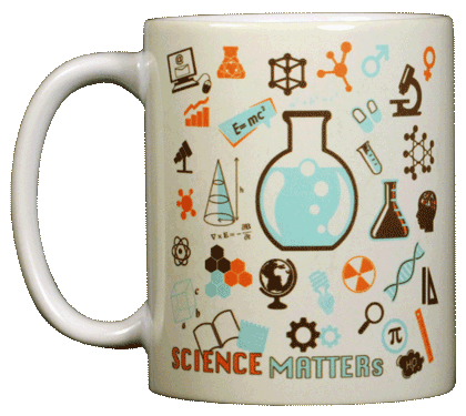 Science Matters Ceramic Mug - Front