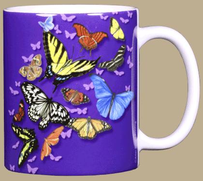Butterfly Wonder Ceramic Mug