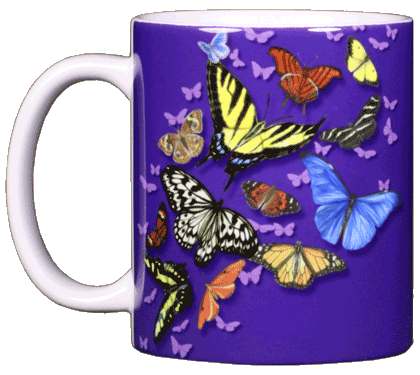 Butterfly Wonder Ceramic Mug