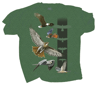 Sky Hunters Adult T-shirt