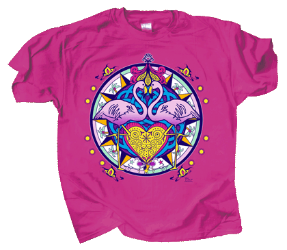 Flamingo Hex Youth T-shirt