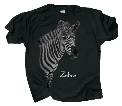 Discharge Zebra Adult Comfort Colors T-shirt - Front