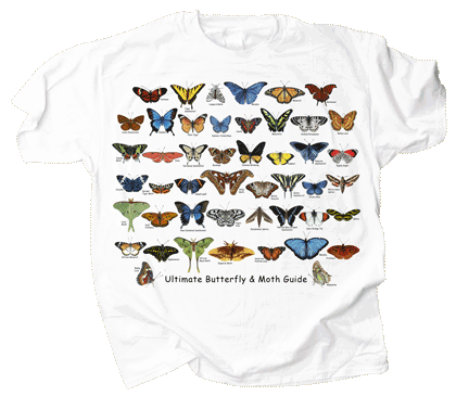 Ultimate Butterfly & Moth Guide Adult T-shirt