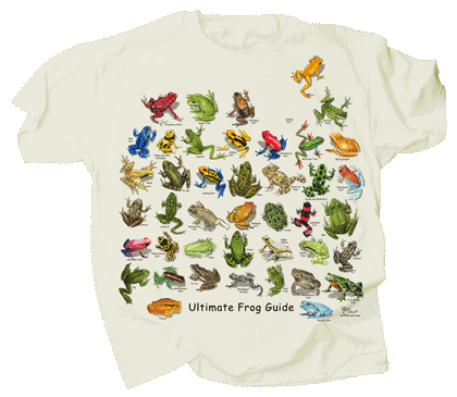 Ultimate Frog Guide Adult T-shirt - Front
