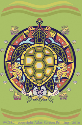 Sea Turtle Hex 2