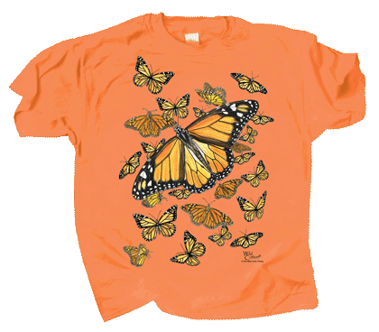 Monarch Kaleidoscope Youth T-shirt