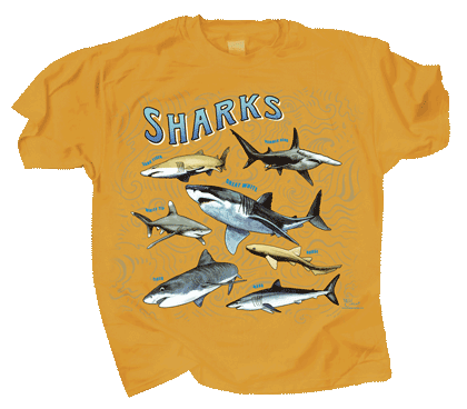Shark School Youth T-shirt