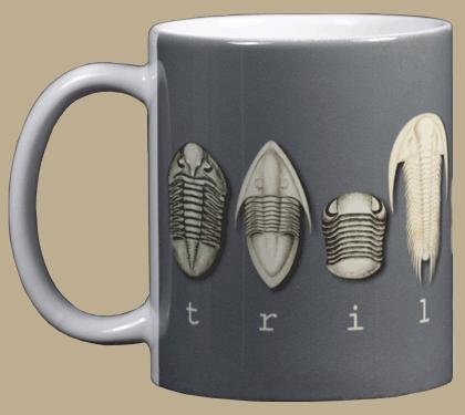 Trilobites Ceramic Mug - Front