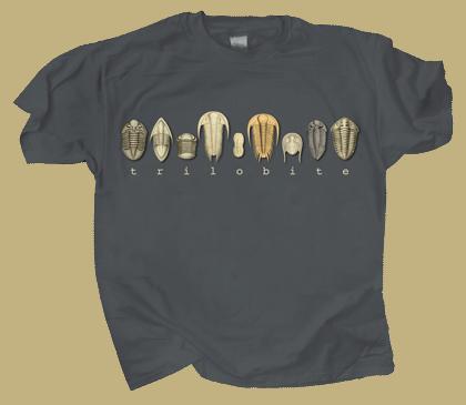 Trilobites Adult T-shirt