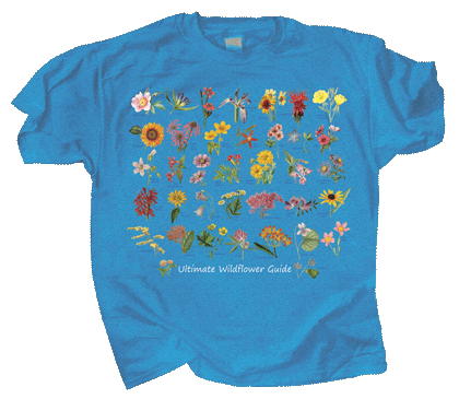 Ultimate Wildflower Guide Adult T-shirt