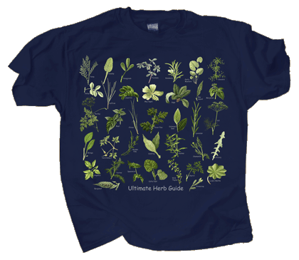 Ultimate Herb Guide Adult T-shirt