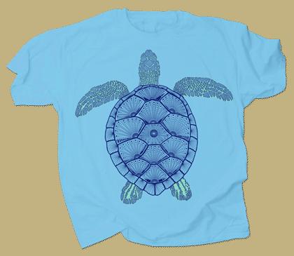 Green Sea Turtle Adult T-shirt
