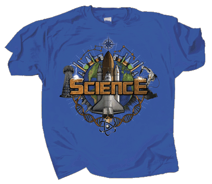 World of Science Adult T-shirt
