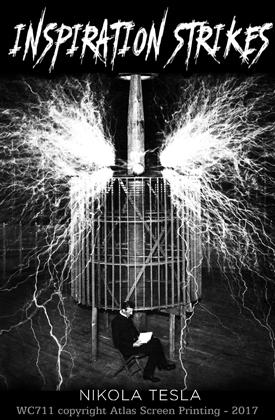 """Tesla's Inspiration 2"""" X 3"""" Magnet"""