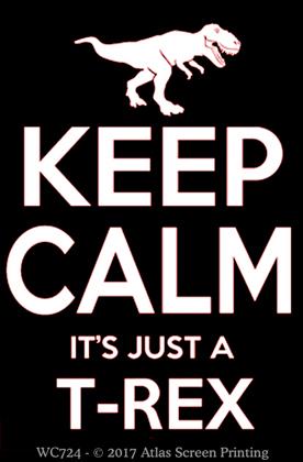 """Keep Calm T-Rex 2"""" X 3"""" Magnet"""