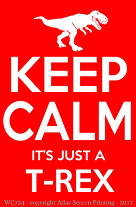 Keep Calm T-Rex 2