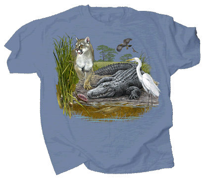 Gator Slough Adult T-shirt