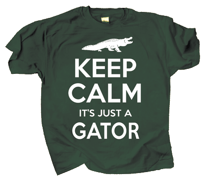 Keep Calm Gator Youth t-shirt