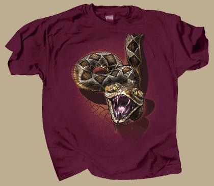 Rattler Heads & Tails Adult T-shirt