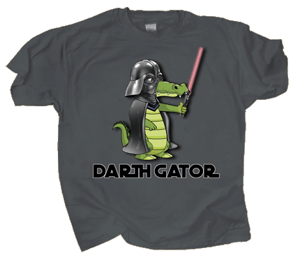 Darth Gator Adult T-shirt