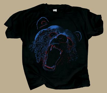 Extreme Black Bear Youth T-shirt