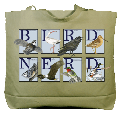 Bird Nerd Canvas Tote