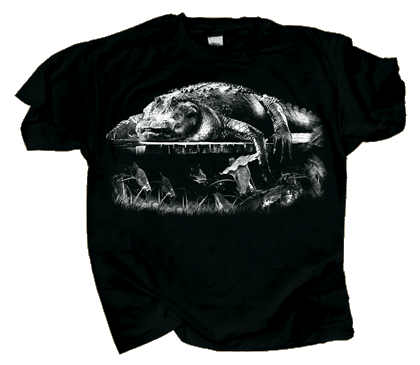 Dockside Gator Adult T-shirt