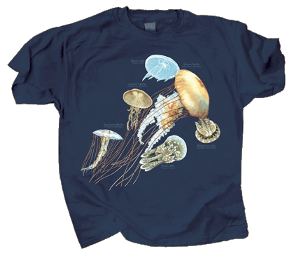 Jellyfish Glow Adult T-shirt