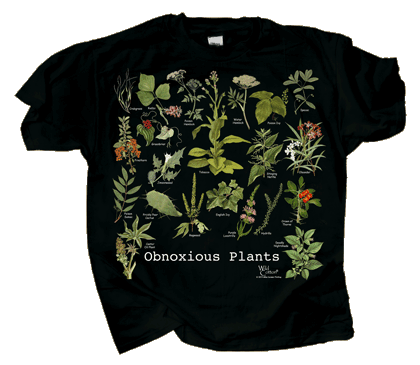 Obnoxious Plants Adult T-shirt